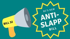 Anti-SLAPP law in BC