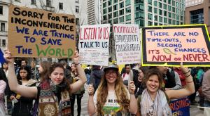 Youth Climate Strike in Vancouver (Photo: Eugene Kung)